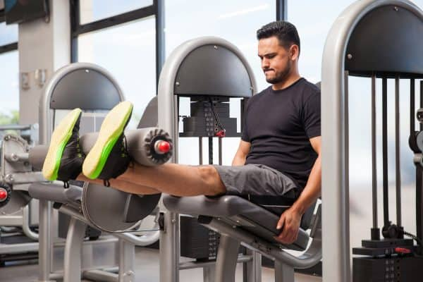Strength Training Exercises - Leg Extensions